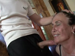 Old Mature Marianna Ass Fucked