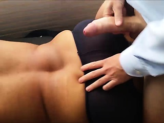 Cumming on Another Man's Wife's Back