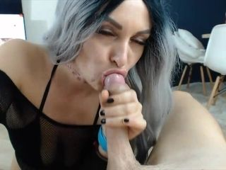 Red-hot wifey devours ginormous hard-on