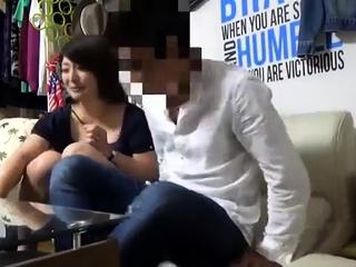 Japanese MILF Hardcore lovemaking Cum Facials Komori dv1350