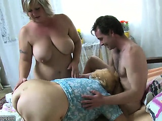 OldNanny Granny bbw action compilation