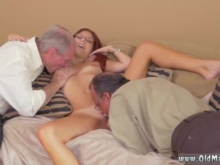 Redhead hairy mature anal Frankie And The