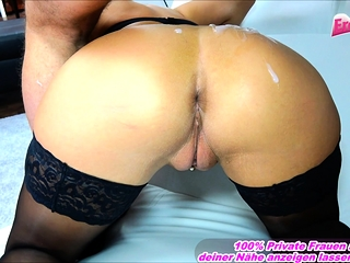 German massive knockers latina stunner with anal invasion professor