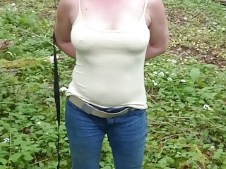 my hot Wife e im Wald