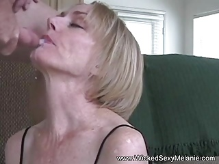 Sloppy Wet BJ From Amateur GILF