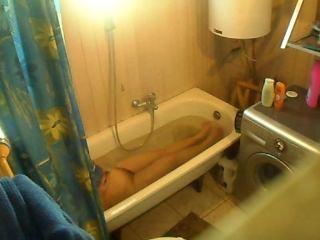 spy shower my mom 1