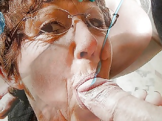 Granny Loves Cock And Cum