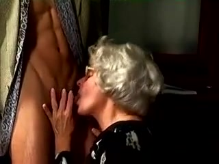 Grannie enjoys ample dick And ass fucking