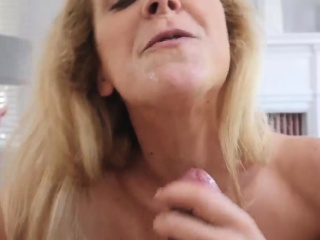 Unshaved cougar gonzo Cherie Deville in inseminated By My