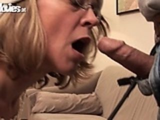 Granny loves to fuck guys in the ass with a toy