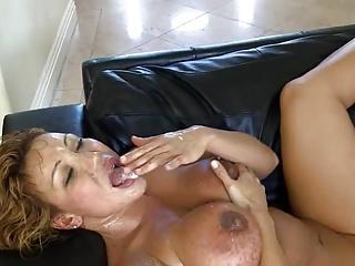 milf slut wife takes multiple cumshots and ir creampie