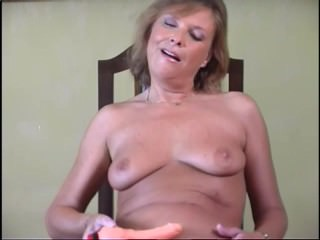 Cougar Loves Her New Toy - Acheron Video