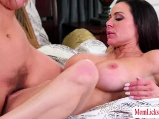 MILF Kendra added to Lena loves pussy shellacking
