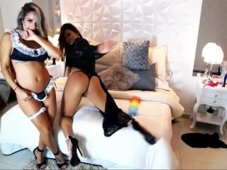 Esperanza Gomez and Sharon live on chaturbate Part1