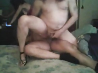 Sharing a cock with wife
