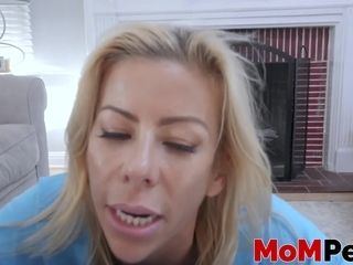 Cute stepmom Alexis Fawx gives hung coxcomb active weasel words narcotize
