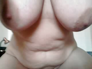 my busty wife in action