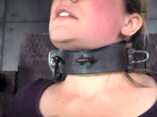 Domination & submission sub oiledup and canned during restrain bondage