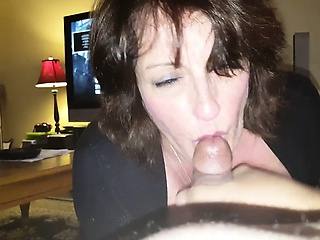 busty mom Peggy devours my cocks
