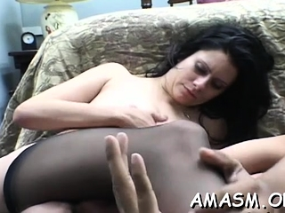 Needy nymph luvs queening boy in grubby pornography modes