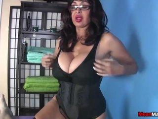 Mature Latina cock treatment