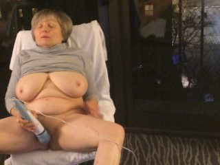 Best mature 12 orgasms hotel window exhibitionist MarieRocks
