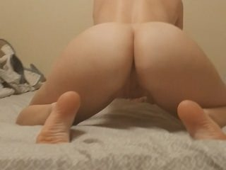 PAWG Nurse wife in first ass spreading! Cum deep in my pussy!