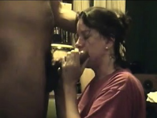 Interracial Bright Mother Choking on Cock After Deepthroat