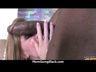 Huge Black Cock Destroys Amateur Housewife 12