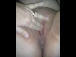 Frolicking with my wife's slit