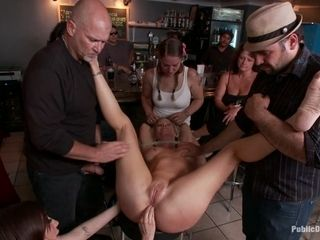 Fantastic ample funbag cougar Gets rump smashed By Strangers In Public spraying, domination & submission, restrain bondage, dehumanization - Publi