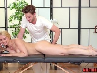 Hotness mother fellatio romp with rubdown