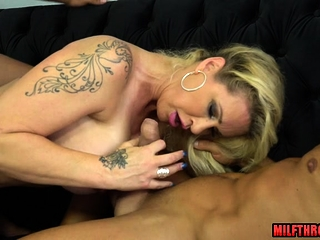 Hot milf boat person together with cumshot