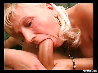 Two granny get pounded hard