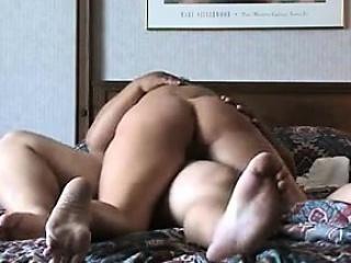 Short-hair slut enjoying sex