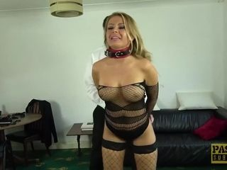 PASCALSSUBSLUTS - French cougar Joanna Bujoli culo ruined