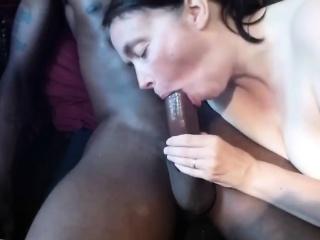 Mature wife loving her BBC