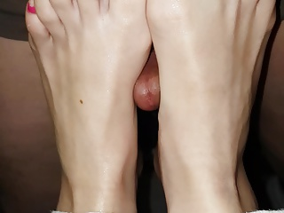 French lover fuck my wife feet multicolors toes